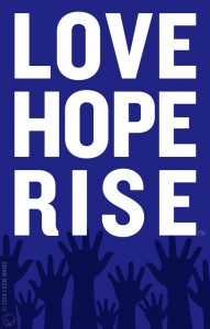 Love Hope Rise graphic